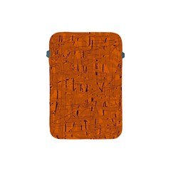Orange pattern Apple iPad Mini Protective Soft Cases