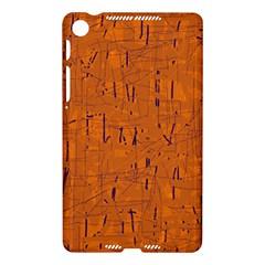 Orange pattern Nexus 7 (2013)