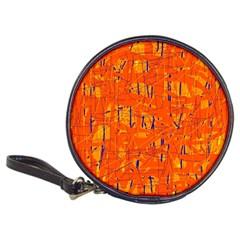 Orange pattern Classic 20-CD Wallets