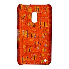 Orange pattern Nokia Lumia 620