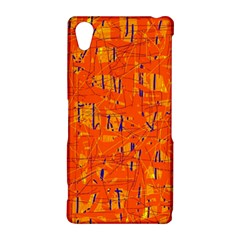 Orange pattern Sony Xperia Z2