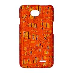 Orange pattern LG Optimus L70