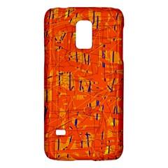 Orange pattern Galaxy S5 Mini