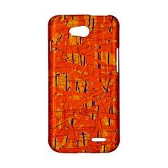 Orange pattern LG L90 D410