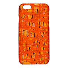 Orange pattern iPhone 6/6S TPU Case