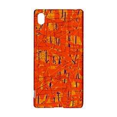 Orange pattern Sony Xperia Z3+