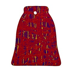 Red and blue pattern Ornament (Bell)