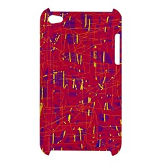Red and blue pattern Apple iPod Touch 4