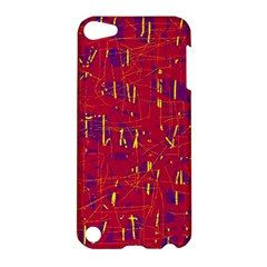 Red and blue pattern Apple iPod Touch 5 Hardshell Case