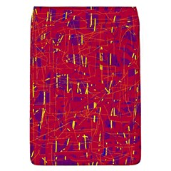 Red and blue pattern Flap Covers (L)