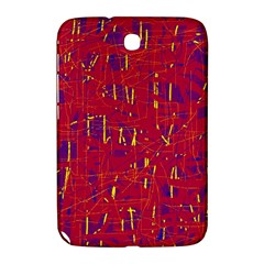 Red and blue pattern Samsung Galaxy Note 8.0 N5100 Hardshell Case