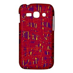 Red and blue pattern Samsung Galaxy Ace 3 S7272 Hardshell Case