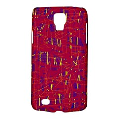 Red and blue pattern Galaxy S4 Active