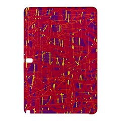 Red and blue pattern Samsung Galaxy Tab Pro 10.1 Hardshell Case