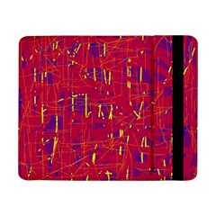 Red and blue pattern Samsung Galaxy Tab Pro 8.4  Flip Case