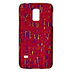 Red and blue pattern Galaxy S5 Mini