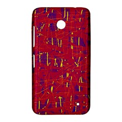 Red and blue pattern Nokia Lumia 630