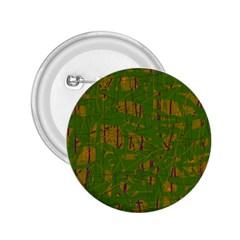 Green pattern 2.25  Buttons
