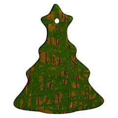 Green pattern Ornament (Christmas Tree)