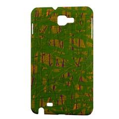 Green pattern Samsung Galaxy Note 1 Hardshell Case