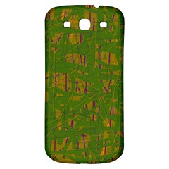 Green pattern Samsung Galaxy S3 S III Classic Hardshell Back Case