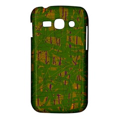 Green pattern Samsung Galaxy Ace 3 S7272 Hardshell Case