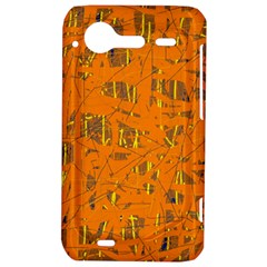 Orange pattern HTC Incredible S Hardshell Case