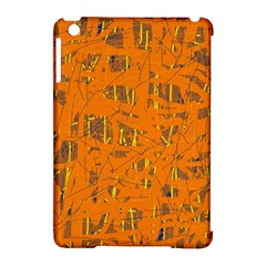 Orange pattern Apple iPad Mini Hardshell Case (Compatible with Smart Cover)