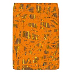 Orange pattern Flap Covers (L)