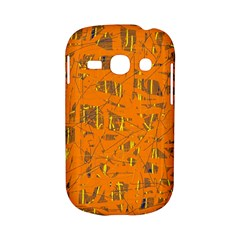 Orange pattern Samsung Galaxy S6810 Hardshell Case