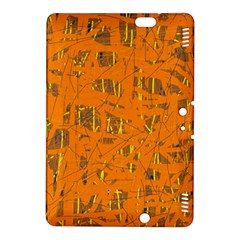 Orange pattern Kindle Fire HDX 8.9  Hardshell Case