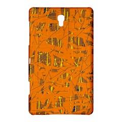 Orange pattern Samsung Galaxy Tab S (8.4 ) Hardshell Case