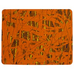 Orange Pattern Jigsaw Puzzle Photo Stand (rectangular)