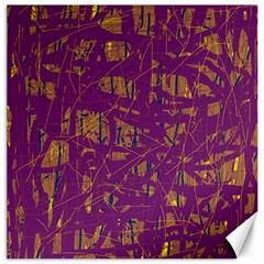 Purple pattern Canvas 20  x 20