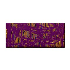 Purple pattern Hand Towel