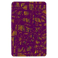 Purple pattern Kindle Fire (1st Gen) Hardshell Case