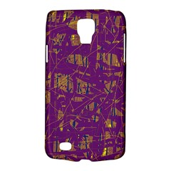 Purple pattern Galaxy S4 Active