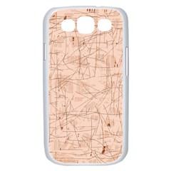 Elegant patterns Samsung Galaxy S III Case (White)