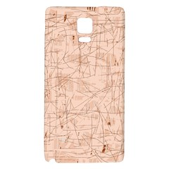 Elegant patterns Galaxy Note 4 Back Case