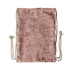 Elegant patterns Drawstring Bag (Small)
