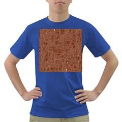 Brown pattern Dark T-Shirt