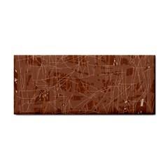 Brown pattern Hand Towel
