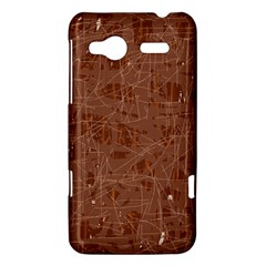 Brown pattern HTC Radar Hardshell Case