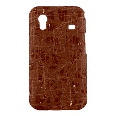 Brown pattern Samsung Galaxy Ace S5830 Hardshell Case