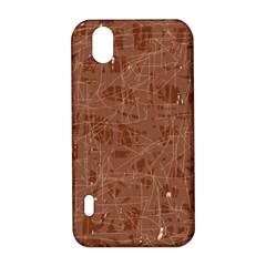 Brown pattern LG Optimus P970