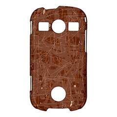 Brown pattern Samsung Galaxy S7710 Xcover 2 Hardshell Case
