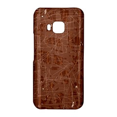 Brown pattern HTC One M9 Hardshell Case