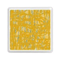 Yellow pattern Memory Card Reader (Square)