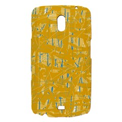 Yellow pattern Samsung Galaxy Nexus i9250 Hardshell Case
