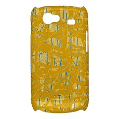 Yellow pattern Samsung Galaxy Nexus S i9020 Hardshell Case